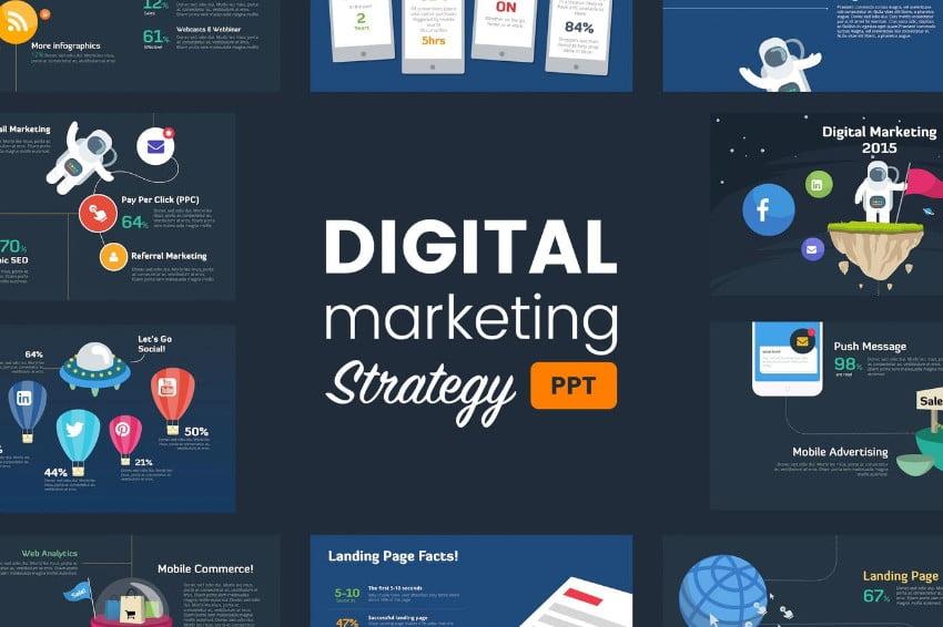 Digital-Marketing-Strategy - 36+ Powerful PowerPoint Marketing Templates [year]