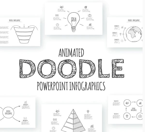 Doodle-Animated - 36+ Awesome Abstract PowerPoint Templates Download [year]