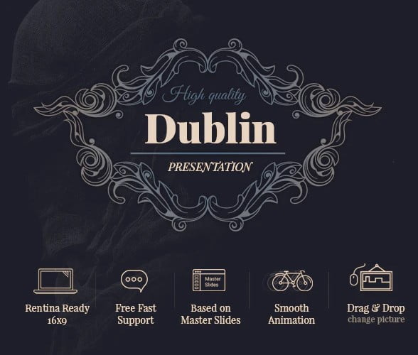 Dublin - 36+ Awesome Abstract PowerPoint Templates Download [year]