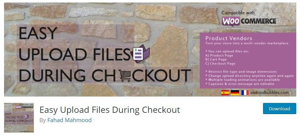 Easy-Upload-1 - 25+ Important WordPress File Uploader Plugins [year]