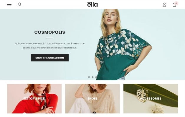 Ella - 35+ Friendly Responsive Dropshipping Shopify Theme [year]