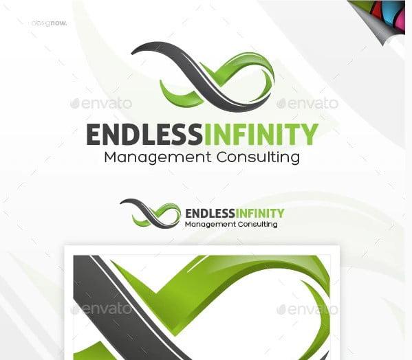 Endless-Infinity - 38+ Lovely Isometric Logo Design Sample [year]