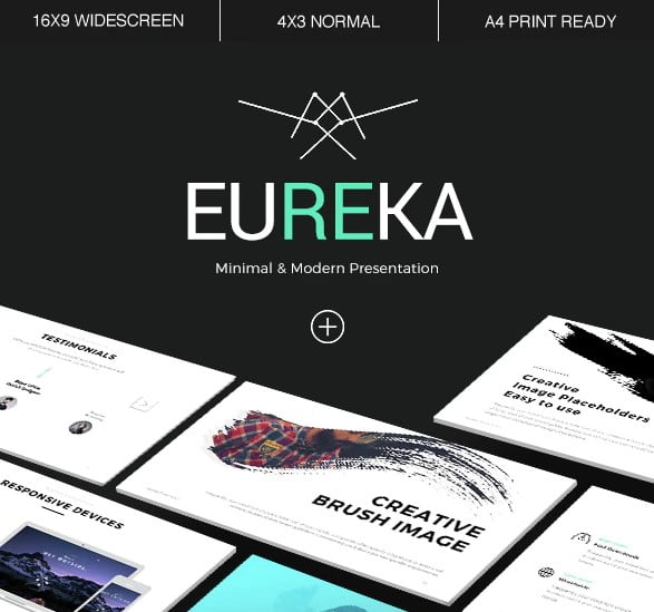 Eureka - 36+ Awesome Business PowerPoint Templates Download [year]