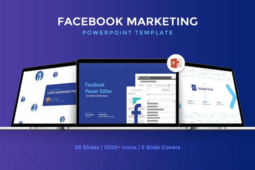 Facebook-Marketing - 36+ Powerful PowerPoint Marketing Templates [year]