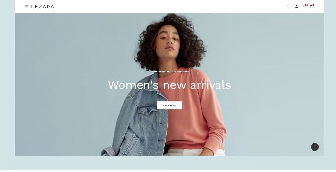 Fashion-Lezada - 51+ Awesome WordPress Lookbook Ecommerce Themes [year]