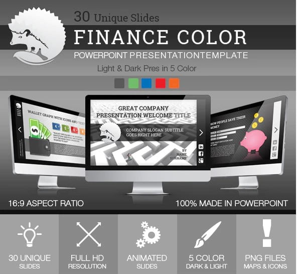 Finance-Color - 36+ Amazing Finance PowerPoint Templates Download [year]