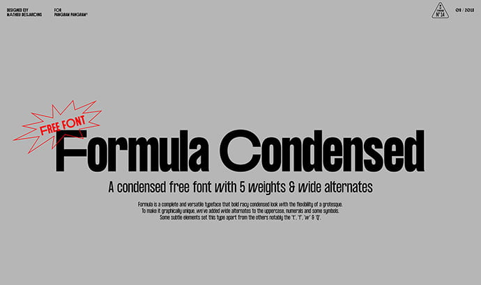 Formula-Consensed - 33+ Free Amazing High Quality Grotesque Fonts [year]