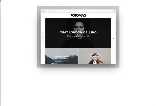 Fotomag - 37+ Nice WordPress Photography Blog Themes [year]