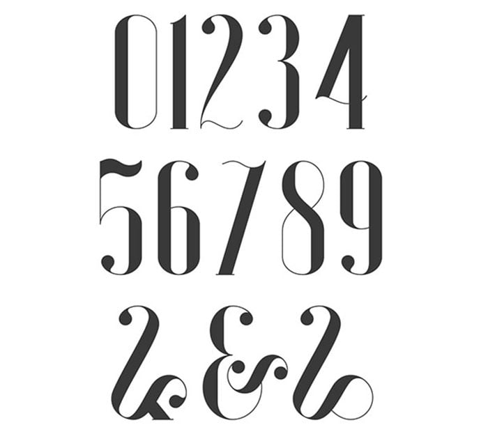 Global - 36+ Best Free Number Fonts For Graphic Designer [year]
