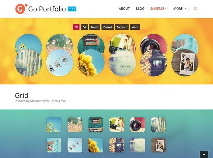 Go-Portfolio - 35+ Important WordPress Portfolio Plugins for Professional [year]