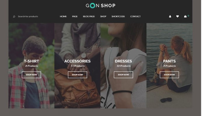 Gon - 51+ Awesome WordPress Lookbook Ecommerce Themes [year]