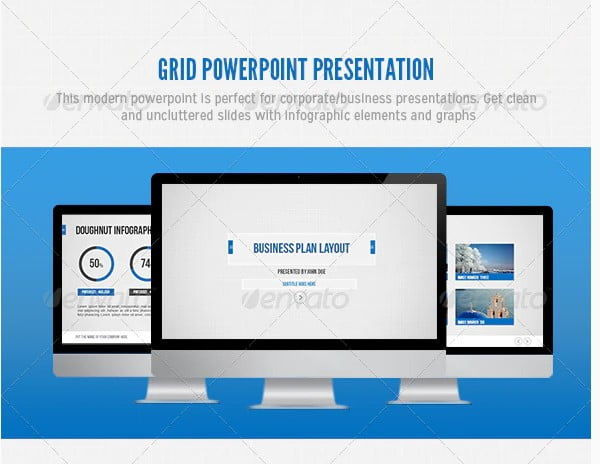 Grid-Powerpoint - 36+ Awesome Business PowerPoint Templates Download [year]