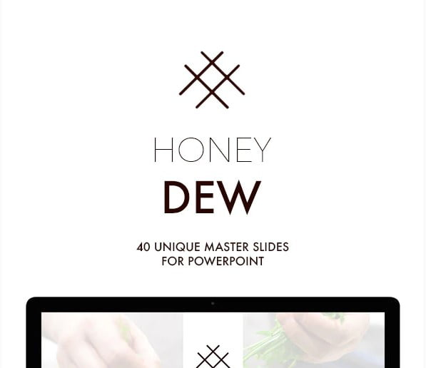 Honey-Dew - 36+ Awesome Abstract PowerPoint Templates Download [year]