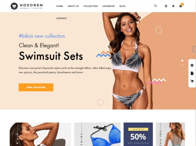 Hosoren - 35+ Friendly Responsive Dropshipping Shopify Theme [year]
