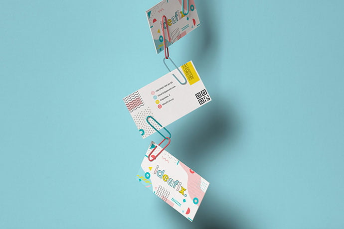 Ideafix - 36+ Impressive Business Card Designs With Visual Impact [year]