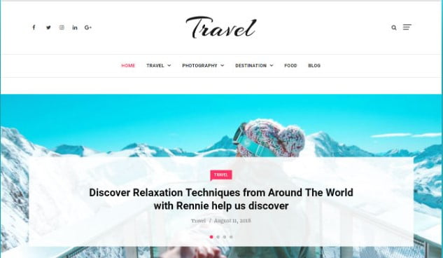 Independent - 37+ Nice WordPress Photography Blog Themes [year]