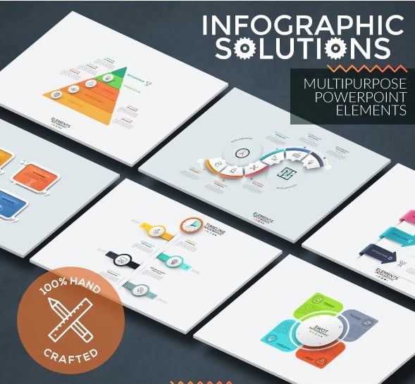 Infographic-Solutions - 36+ Awesome Abstract PowerPoint Templates Download [year]