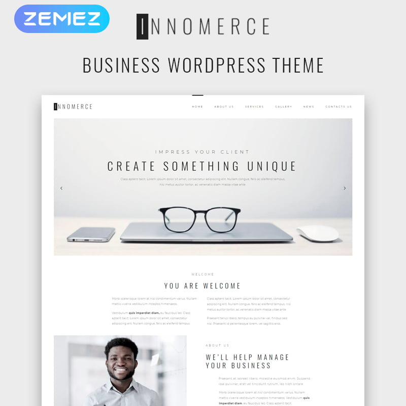 Innomerce - Global Leader Together With These 10 Business WordPress Themes! [year]