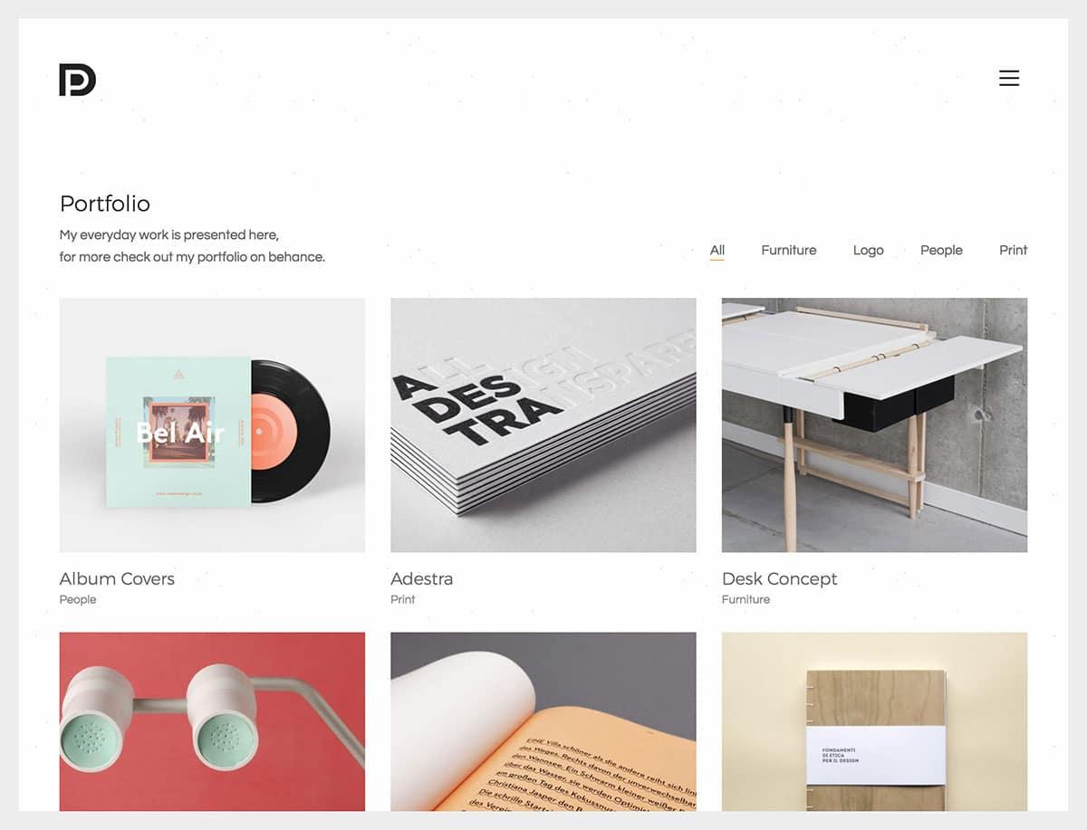 Kalium - 31+ Amazing Artists WordPress Themes [year]