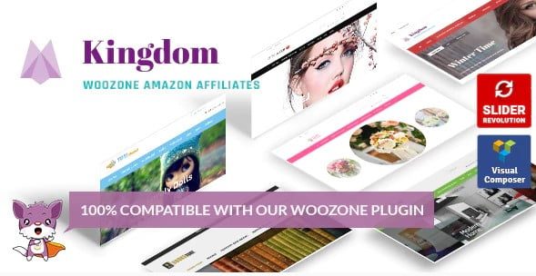 Kingdom - 36+ Important WordPress Ecommerce Themes For Popup Designs [year]