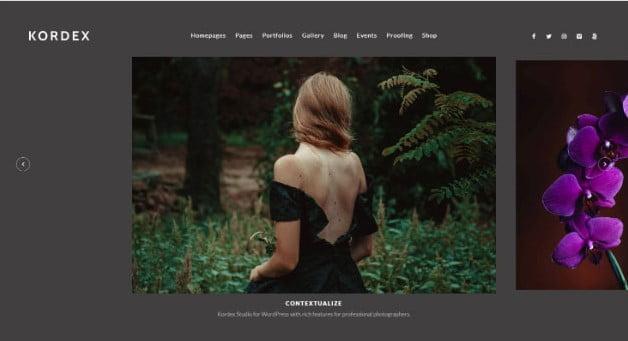 Kordex - 35+ Lovely WordPress Elementor Portfolio Themes [year]