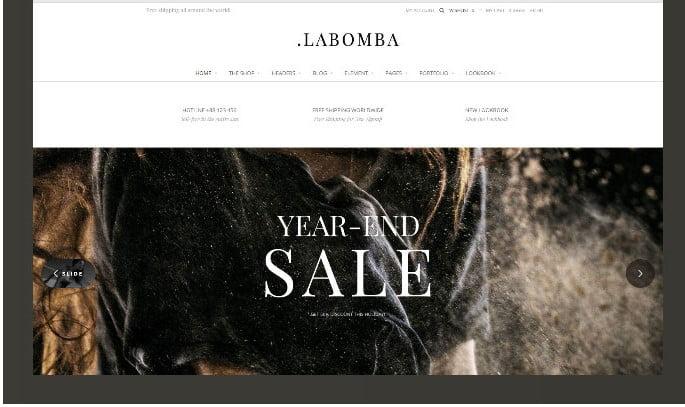 Labomba-1 - 51+ Awesome WordPress Lookbook Ecommerce Themes [year]