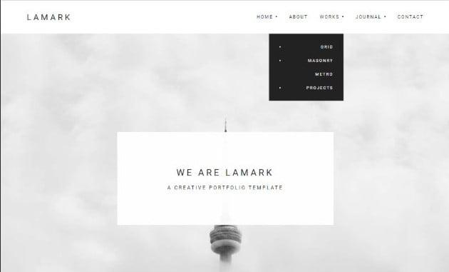 Lamark - 35+ Lovely WordPress Elementor Portfolio Themes [year]
