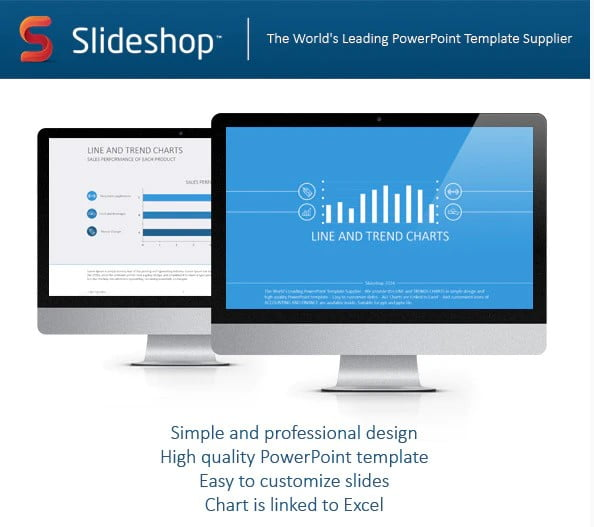 Line-and-Trends-Chart-Flat - 36+ Amazing Finance PowerPoint Templates Download [year]