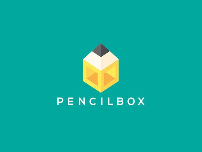 Logo-for-Pencilbox - 38+ Lovely Isometric Logo Design Sample [year]