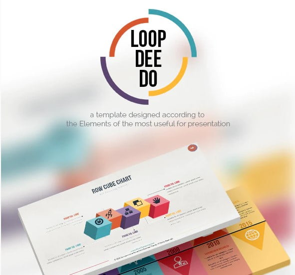 Loop-Dee-Do - 36+ Awesome Abstract PowerPoint Templates Download [year]