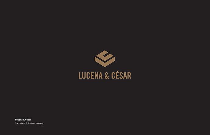 Lucena-Cesar - 38+ Lovely Isometric Logo Design Sample [year]