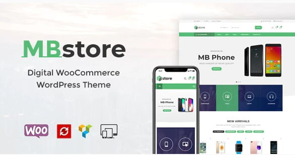 MBStore - 36+ Important WordPress Ecommerce Themes For Popup Designs [year]