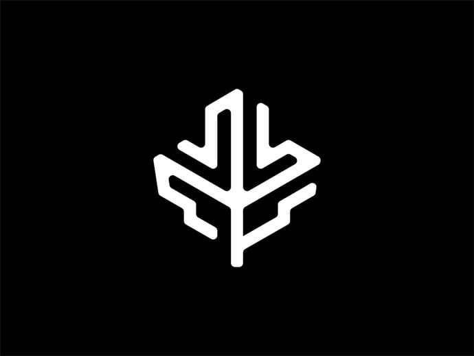 Maple-Leaf - 38+ Lovely Isometric Logo Design Sample [year]