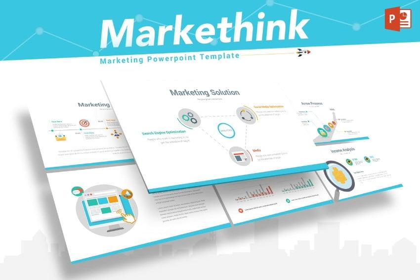 Markethink - 36+ Powerful PowerPoint Marketing Templates [year]