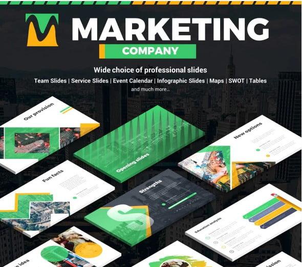 Marketing-Company - 36+ Powerful PowerPoint Marketing Templates [year]