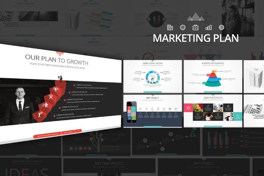 Marketing-Plan-1 - 36+ Powerful PowerPoint Marketing Templates [year]