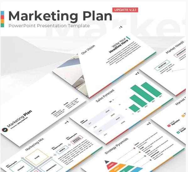 Marketing-Plan - 36+ Powerful PowerPoint Marketing Templates [year]