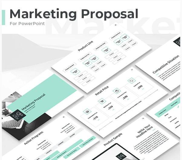 Marketing-Proposal - 36+ Powerful PowerPoint Marketing Templates [year]