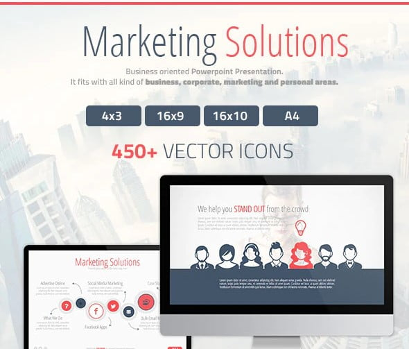 Marketing-Solutions - 36+ Powerful PowerPoint Marketing Templates [year]
