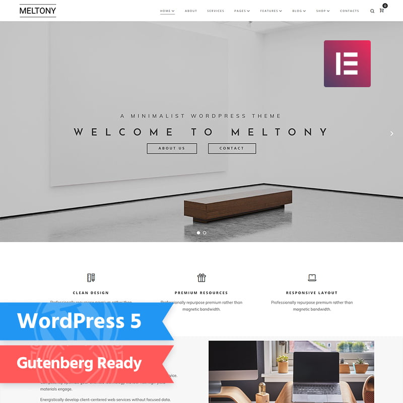 Meltony - Global Leader Together With These 10 Business WordPress Themes! [year]
