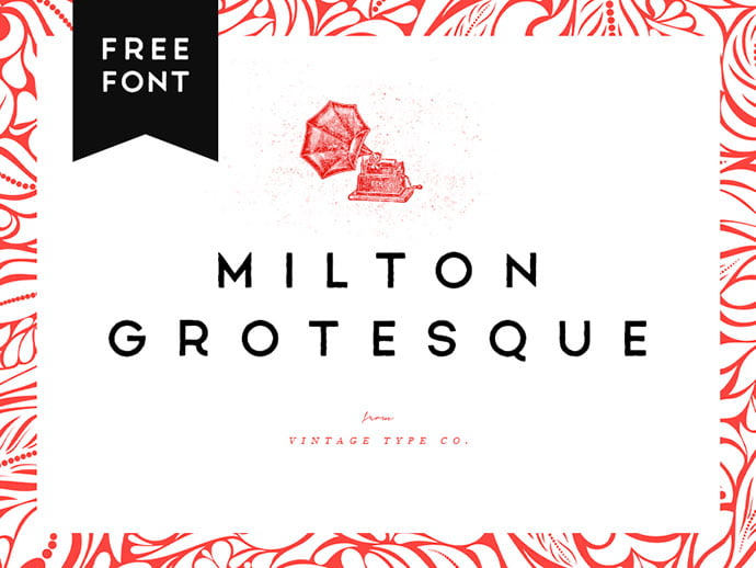 Milton-Grotesque - 33+ Free Amazing High Quality Grotesque Fonts [year]