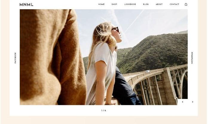 Mnml-1 - 51+ Awesome WordPress Lookbook Ecommerce Themes [year]
