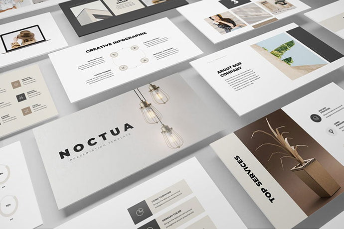 Noctua - 36+ Nice PowerPoint Portfolio Showcasing Templates [year]