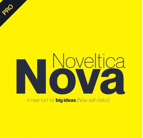 Noveltica-Nova-Pro-Font-1 - 33+ Free Amazing High Quality Grotesque Fonts [year]