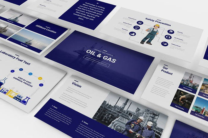 Oil-and-Gas - 36+ Nice PowerPoint Portfolio Showcasing Templates [year]