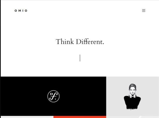 Omio - 35+ Lovely WordPress Elementor Portfolio Themes [year]