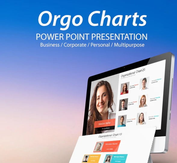 Orgo-Charts - 36+ Awesome Abstract PowerPoint Templates Download [year]