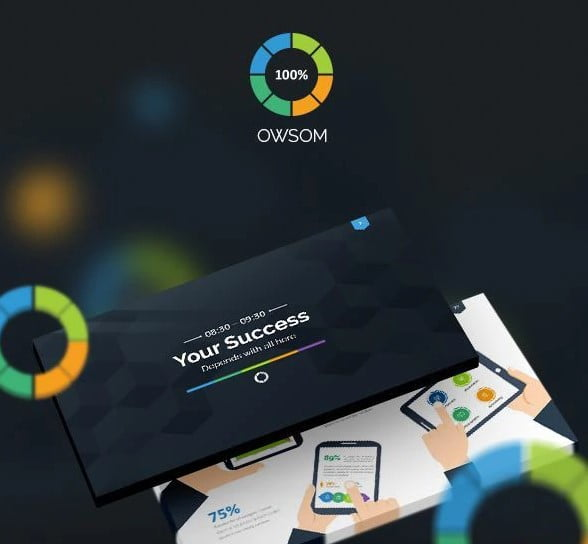Owsom - 36+ Awesome Abstract PowerPoint Templates Download [year]