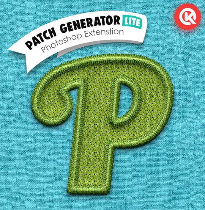 Patch-Generator-Lite - 36+ Amazing Fun & Playful Typography Photoshop Text Effects [year]