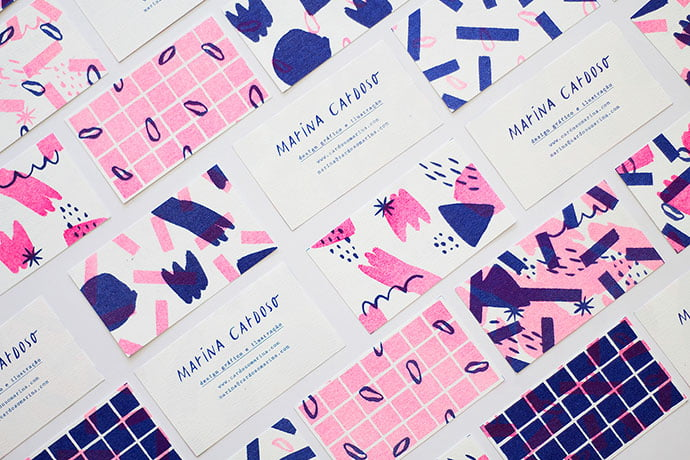 Personal-Business-Cards - 36+ Impressive Business Card Designs With Visual Impact [year]